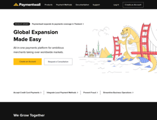paymentwall.co screenshot