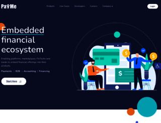 paymeservice.com screenshot