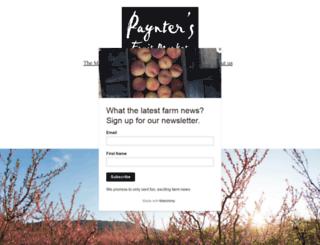 payntersfruitmarket.ca screenshot