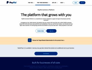 paypal-business.com.au screenshot