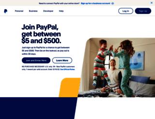 paypal-survey.com screenshot