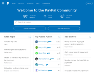 paypal-talk.co.uk screenshot