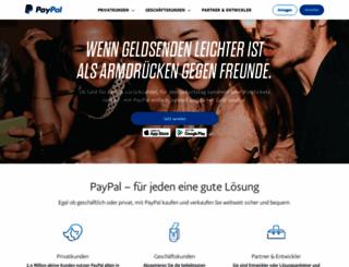 paypal.at screenshot