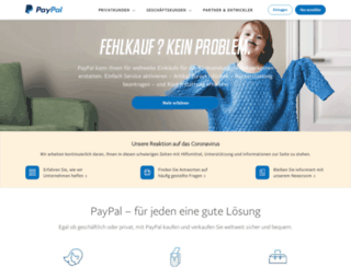 paypal.ch screenshot
