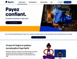 paypal.fr screenshot