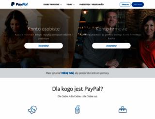 paypal.pl screenshot