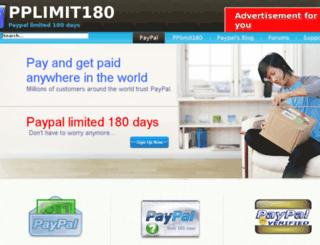 paypallimit.com screenshot