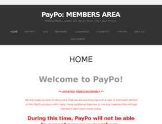 paypo.wordpress.com screenshot