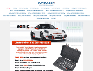 payracer.com screenshot