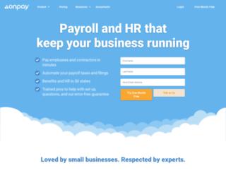 payrollcenter.com screenshot