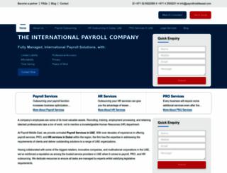 payrollmiddleeast.com screenshot