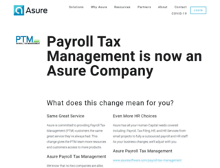 payrolltaxmgmt.com screenshot