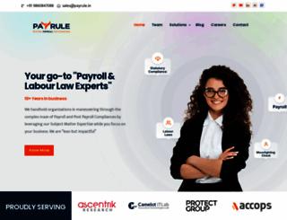 payrule.in screenshot