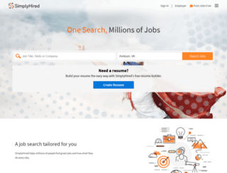 payscale.simplyhired.com screenshot