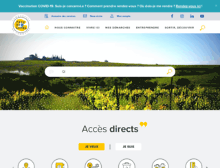 paysdelunel.fr screenshot