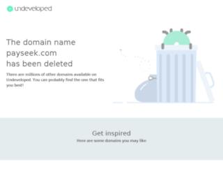 payseek.com screenshot