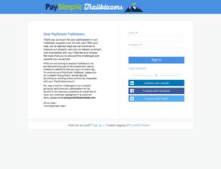paysimple.influitive.com screenshot