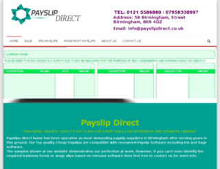 payslipdirect.co.uk screenshot