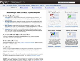 paysliptemplate.us screenshot
