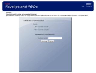 payslipview.co.uk screenshot