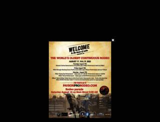 paysonroundup.com screenshot