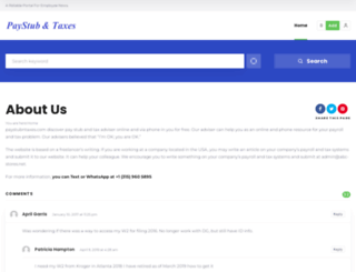 paystubntaxes.com screenshot