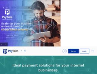 paytabs.net screenshot