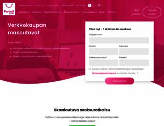paytrail.com screenshot