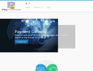 paytronicks.com screenshot