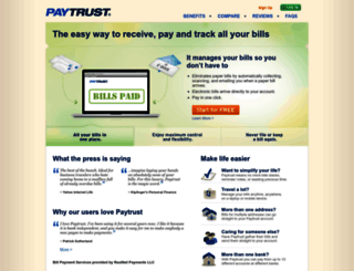 paytrust.com screenshot