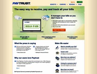 paytrust.com screenshot