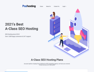 pazhosting.com screenshot