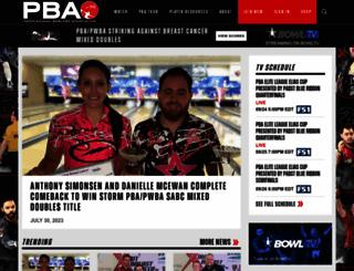 pba.com screenshot
