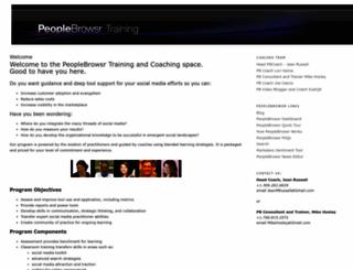pbcoach.blogspot.com screenshot