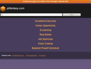 pbfantasy.com screenshot