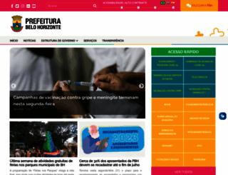 pbh.gov.br screenshot