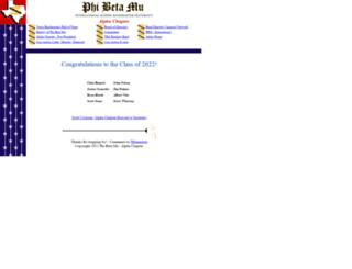 pbmalpha.org screenshot