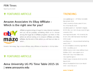 pbntimes.com screenshot