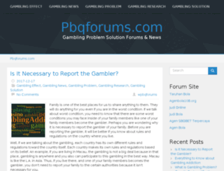 pbqforums.com screenshot