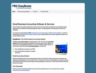 pbs-easybooks.com screenshot
