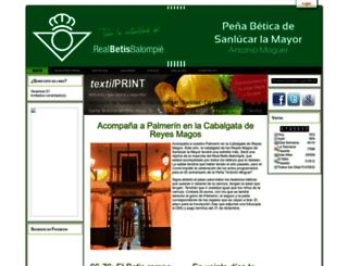 pbsanlucar.com screenshot