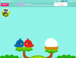 pbskids.org screenshot