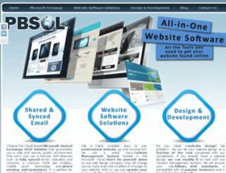 pbsol.co.za screenshot