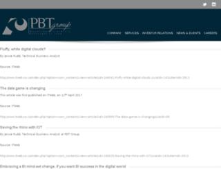 pbt.co.za screenshot