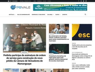 pbvale.com.br screenshot