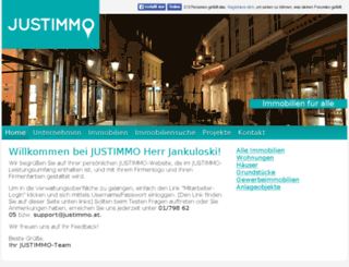 pbw-immobilien.justimmo.at screenshot