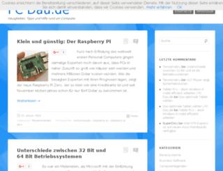 pc-dau.de screenshot