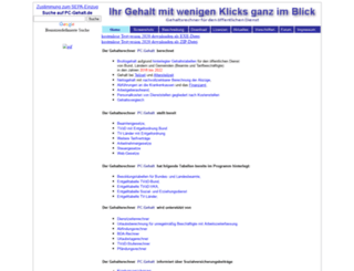pc-gehalt.de screenshot