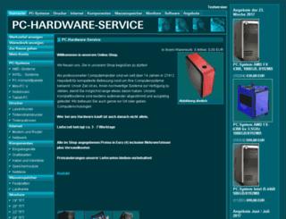 pc-hardware-service.de screenshot