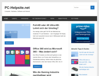 pc-helpsite.net screenshot